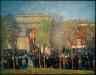 William James Glackens / Italo-American Celebration, Washington Square / about 1912