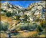 Pierre Auguste Renoir / Rocky Crags at L'Estaque / 1882