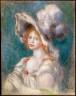 Pierre Auguste Renoir / Mademoiselle Dieterle (La Merveilleuse) / not dated