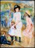 Pierre Auguste Renoir / Children on the Seashore, Guernsey / about 1883