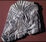 Artist not recorded / Relief of youthful soldier / reign of Sennacherib, 704-681 B.C.