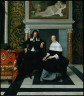 Eglon van der Neer / Portrait of a Man and Woman in an Interior / about 1675