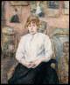 Henri de Toulouse-Lautrec / Carmen Gaudin in the Artist's Studio / 1888