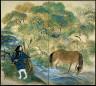 Tomita Keisen / Autumn in Ohara / Taisho period, 1921