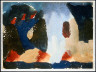 Arthur Garfield Dove / Untitled (Landscape with graduated gray vertical bands) / 1942-1944