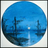 James Hamilton / Bayou in Moonlight / about 1864