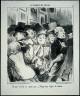 Daumier, Honoré-Victorin / A Day When One Does Not Pay. Twenty-five Degrees Celsius. [Un jour où l'on ne paye pas.  Vingt-cinq degrés de chaleur.] #10 from the series 'Le Public du Salon,' / published in 'Charivari', May 17, 1852