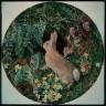 William J. Webbe / Rabbit amid Ferns and Flowering Plants / 1855