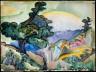 William Zorach / Landscape / 1917