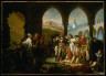 Antoine Jean Gros and Studio / General Bonaparte Visiting the Plague-Stricken at Jaffa / 1804