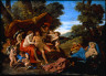 Nicolas Poussin / Mars and Venus / about 1627-29