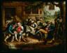 John Quidor / Rip Van Winkle and His Companions at the Inn Door of Nicholas Vedder's / 1839