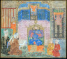 Artist not recorded / Zahhak Tells Priests about His Dream / late 15th century, Sultanate period