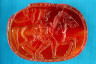 Artist not recorded / Scarab intaglio with Herakles and horse of Diomede. / Second half of 6th century B.C.