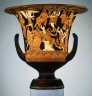 the Nazzano Painter / Calyx-krater / about 380-360 B.C.