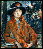 Maurice Brazil Prendergast / Woman in Brown Coat / about 1910-13