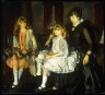 George Wesley Bellows / Emma and Her Children / 1923
