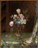 Martin Johnson Heade / Vase of Mixed Flowers / about 1872
