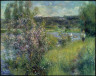 Pierre Auguste Renoir / The Seine at Chatou / about 1881