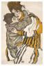 Egon Schiele / Schiele's Wife with her Little Nephew / 1915