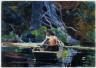 Winslow Homer / The Adirondack Guide / 1894