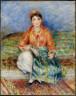 Pierre Auguste Renoir / Algerian Girl / 1881