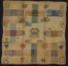 Artist not recorded / Darning sampler / Early 19th Century