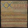 Artist not recorded / Sampler / 19th Century