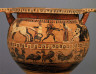 Artist not recorded / Column krater (mixing bowl) / about 550 B.C.