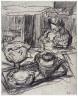 Édouard Vuillard / Lady at Tea Table / 1910-29
