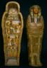Egypt, Thebes, Deir el-Bahari (?), New Kingdom, late Dynasty 21 0r early Dynasty 22, 1069-715 BC / Coffin of Nesy-Khonsu / 1000-900 BC