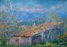 Claude Monet / Gardener's House at Antibes / 1888