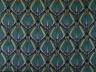 Gregory Brown / Hand Block Printed Linen: Abstract Design / c. 1926