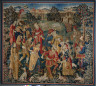 France or Flanders, early 16th century / Shepherds in Round Dance / early 1500s