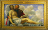 Giovanni Gerolamo Savoldo / The Dead Christ with Joseph of Arimathea / c. 1525