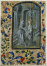 Guillaume Vrelant / Leaf from a Book of Hours: The Visitation / c. 1470-1480
