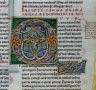 France, Burgundy, Archdiocese of Sens, Abbey of Pontigny, 12th Century / Single Leaf from Gratian's Decretum / c. 1160-1165