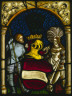 Switzerland, Germany, or Austria (Lake Constance region), 16th century / A Knight and a Lady with the Arms of the Archduchy of Austria / c. 1515