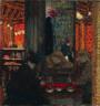 Édouard Vuillard / Café Scene / c. 1895