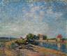 Alfred Sisley / Saint-Mammès, Canal du Loing / 1885
