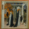 Giovanni di Paolo / St. Catherine of Siena and the Beggar / 1460s