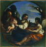 Guercino / Rest on the Flight into Egypt / 1624