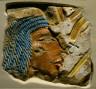 Egypt, Karnak, New Kingdom, Dynasty 18, reign of Amenhotep IV, 1353-1337 BC / Relief of Nefertiti / 1353-1337 BC