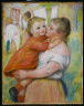 Pierre Auguste Renoir / Mother and Child / 1886