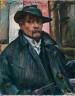Lovis Corinth / Self-Portrait with Hat and Coat / 1915