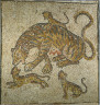 Roman, Eastern Roman Empire, 4th century A.D. / Tigress and Cubs / 4th century A.D.