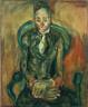 Chaim Soutine / Seated Woman / c. 1923-1924