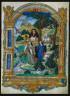 Master of Francis I / Frontispiece from Guillaume Cretin's Debat entre deux dames sur le passetemps des chiens et oyseaux: Debate between Two Women / c. 1537-1540