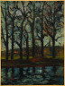 Maurice de Vlaminck / Trees on the Bank of the Marne / 1902