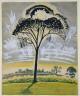 Charles Burchfield / The Sun Through the Trees / 1917